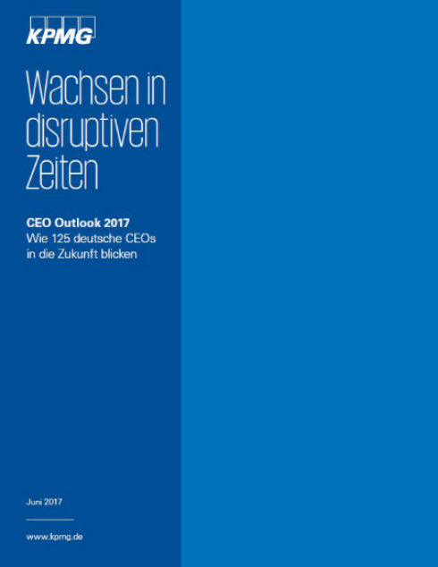CEO-Outlook 2017: Wachsen in disruptiven Zeiten