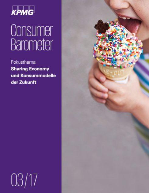 Consumer Barometer 3/2017: Sharing economy