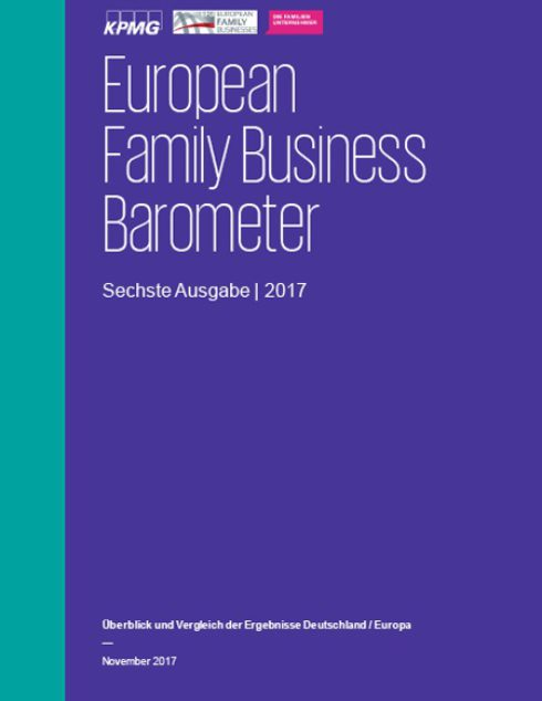 European Family Business Barometer 2017