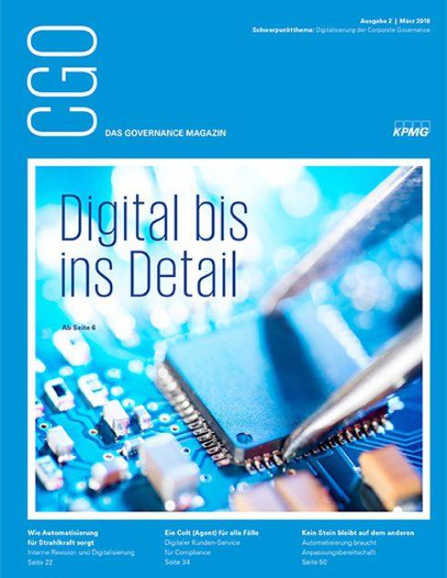 CGO – das Governance-Magazin. Schwerpunkt: Digital bis ins Detail