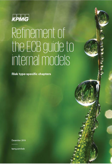 Refinement of the ECB guide to internal models