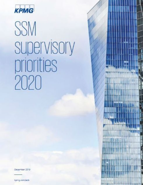 SSM supervisory priorities 2020