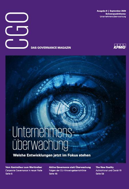 CGO - das Governance-Magazin, Thema: Unternehmensüberwachung
