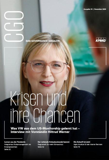 CGO - das Governance-Magazin, Ausgabe 10