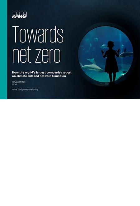 Towards net zero