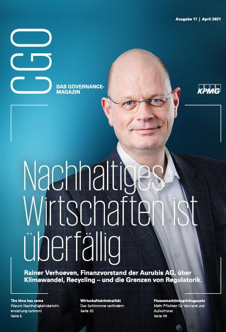 CGO – das Governance-Magazin, Ausgabe 11